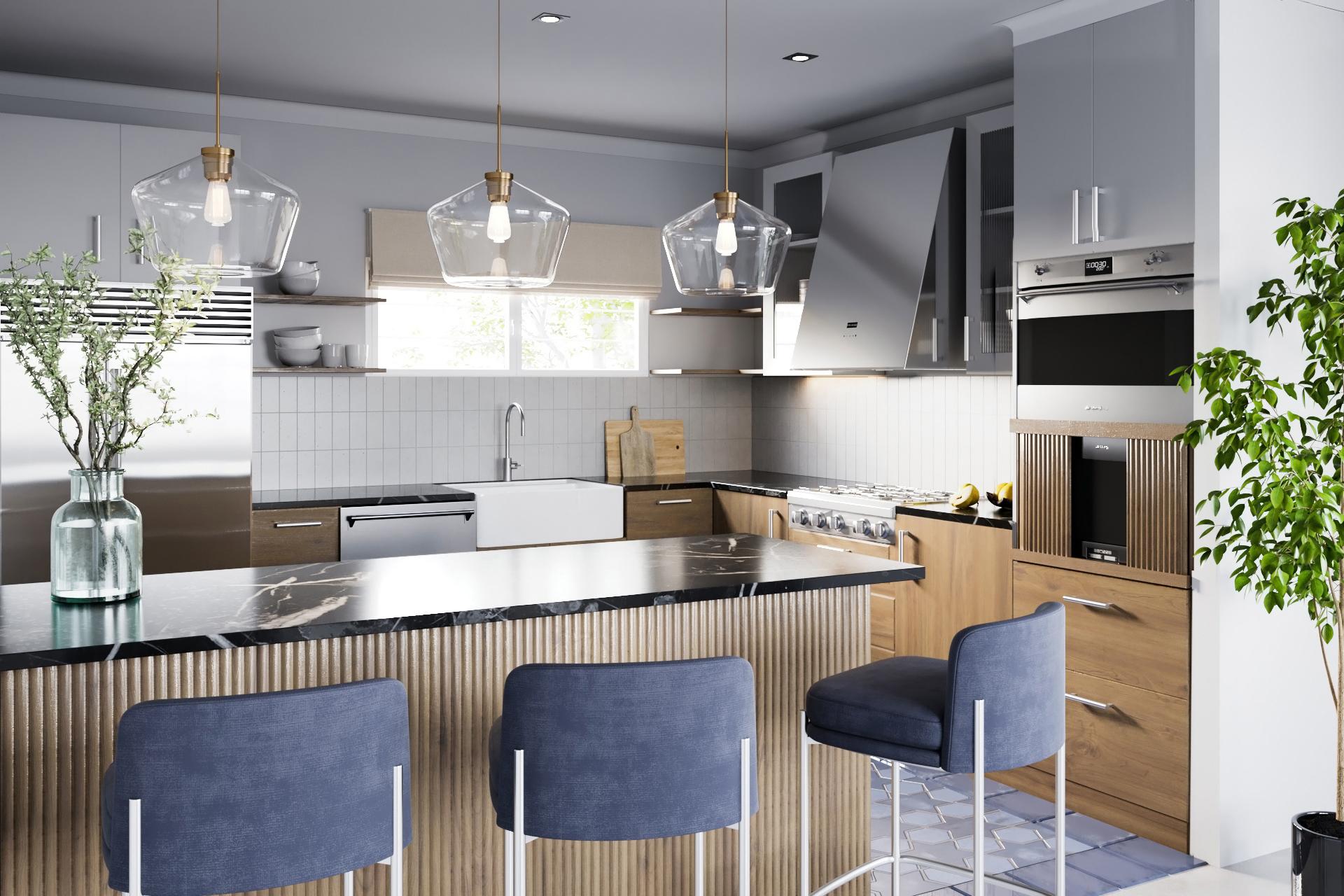 Craftsman Revival Kitchen