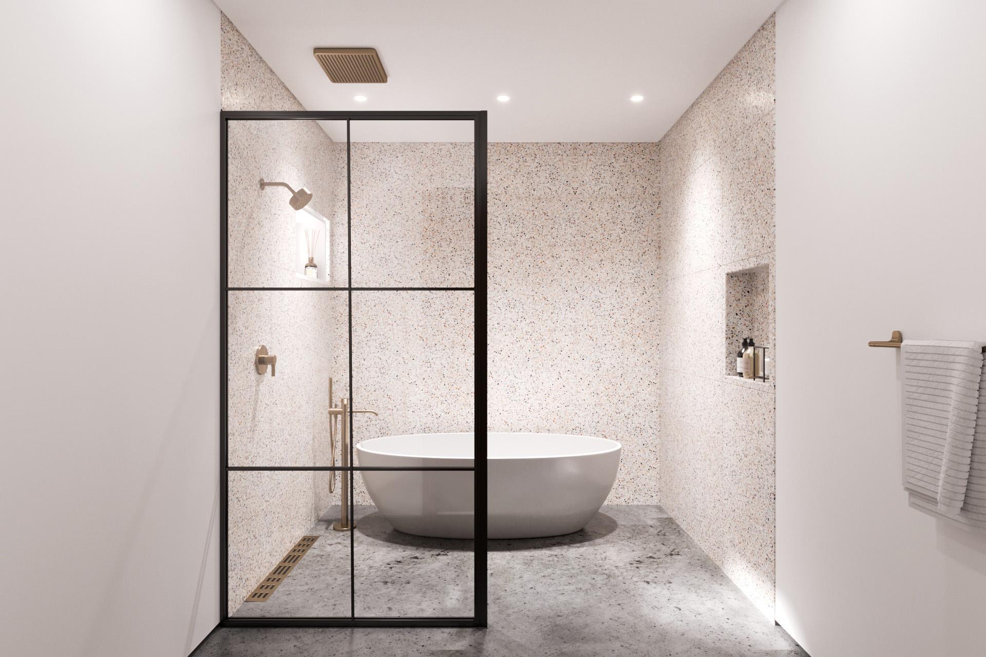 Terrazzo Spa Bathroom